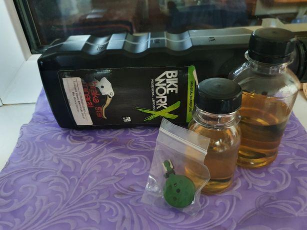 Мінеральне масло минеральное длягидравлических тормозов