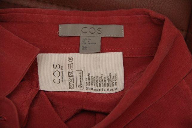 COS рр 36 (US 6) S-M wmns блузка из шёлка