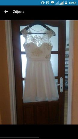 Sukienka koronka M