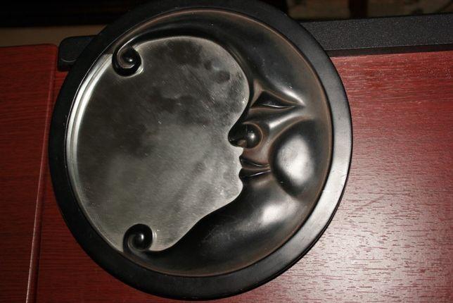 vintage lustro ,,księżyc''