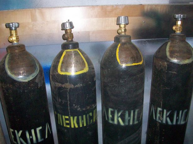 Заправка балонов Угликислота, Кислород