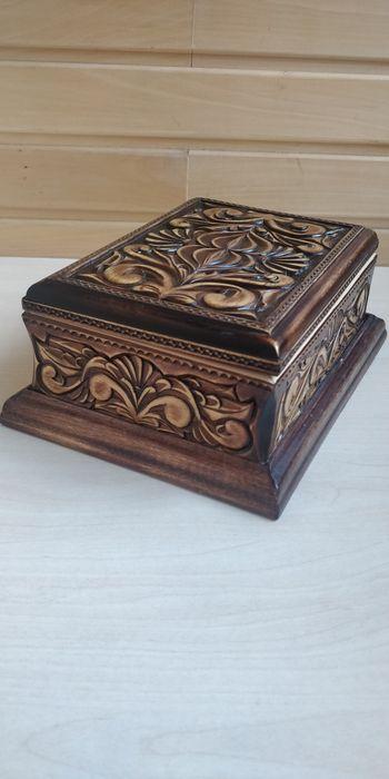 Шкатулка из дерева ручной работы Черкассы - изображение 1
