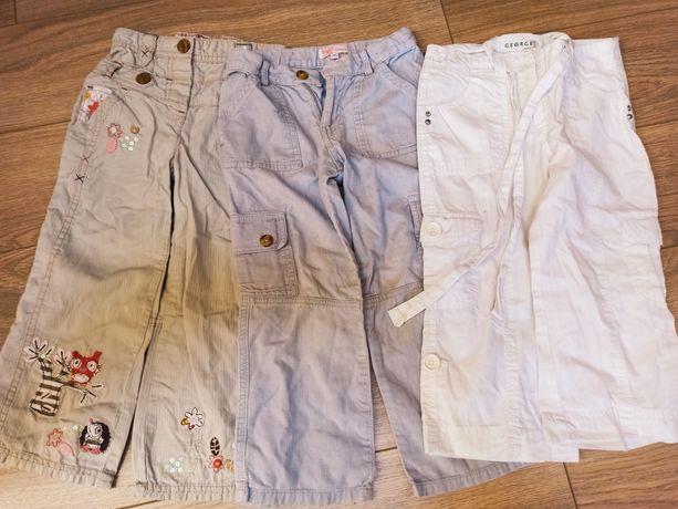 Zestaw 3 par spodni letnich rozm 104