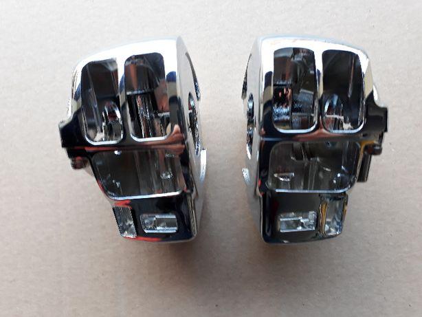 Harley przełącznik obudowa przyciski