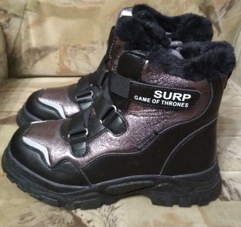 Ботинки зимние для девочки 34 размер Tom.m