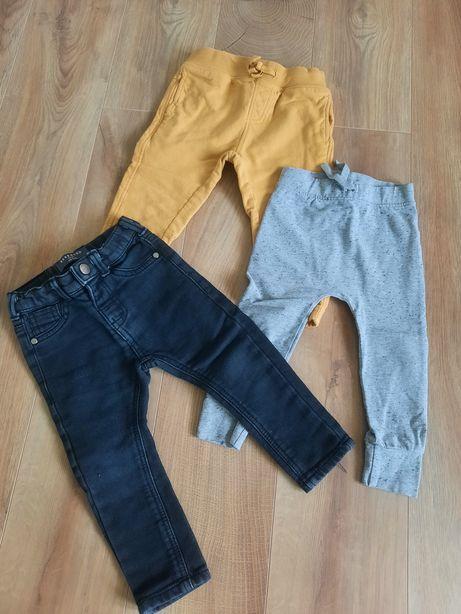 Spodnie dresy jeansy Cool Club Reserved 86