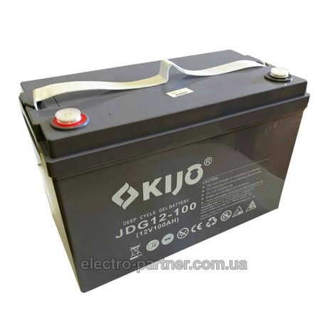 Аккумулятор гелевый 100 Ач 12В KIJO JDG 12-100 GEL новый