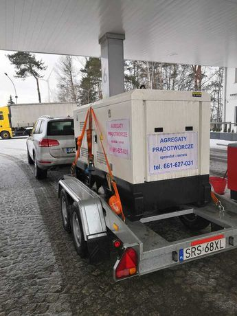 Agregat prądotwórczy 30kW/33 kW/42 kVA, AVR,automatyka SZR (ATS), nowy