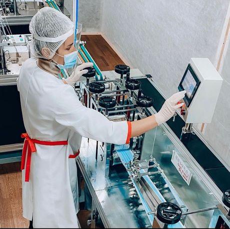 Завод по производству медицинских масок