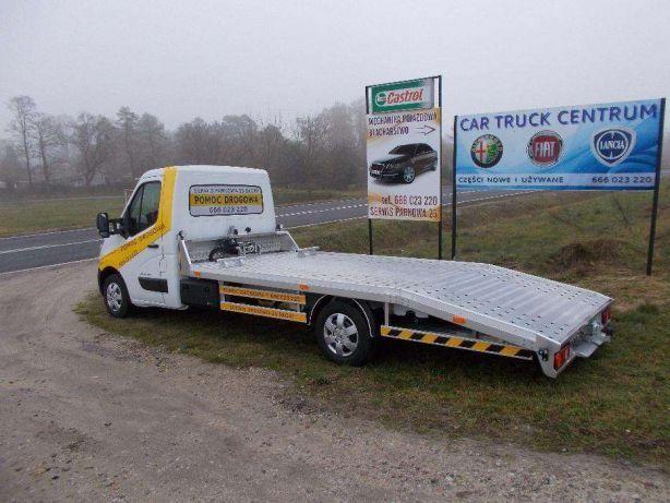 Pomoc drogowa 24H Laweta Autolaweta Transport aut Holowanie Autopomoc