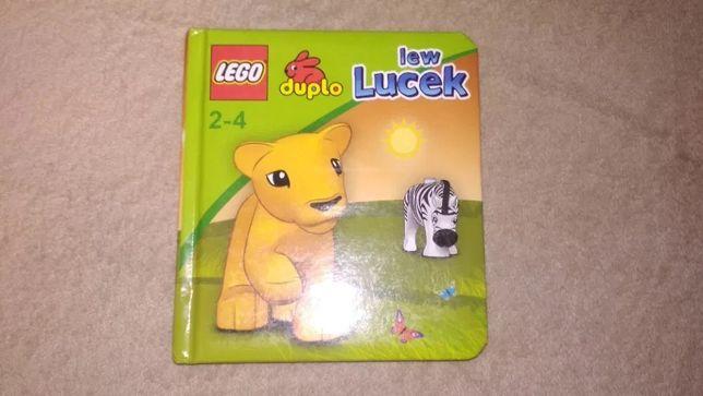 Książka, książeczka, Lego Duplo. Lew Lucek