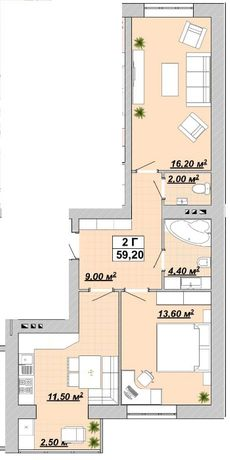 Продам, 2-х квартира в ЦЕНТРІ
