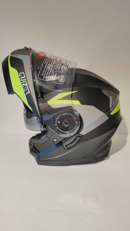 Capacete modular mota scooter novo