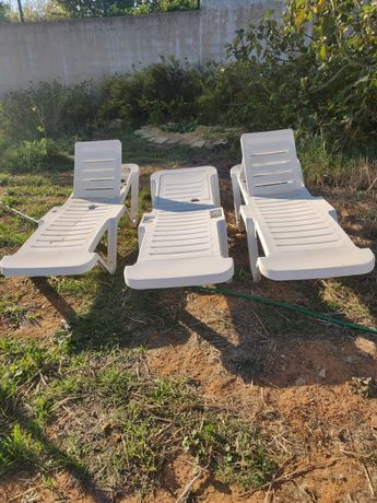 Cadeiras de sol - jardim