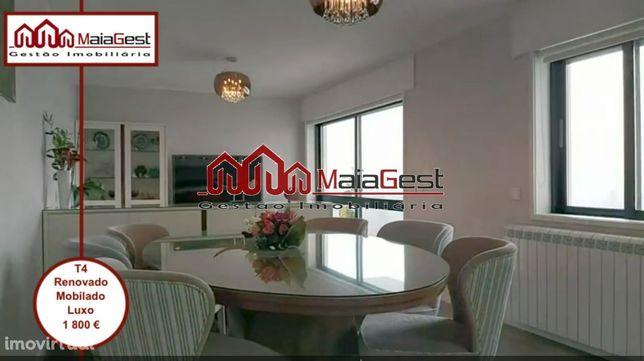 T4 | Renovado | Mobilado | Luxo | MaiaGest