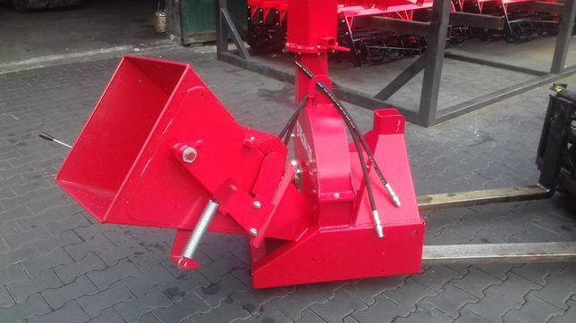 Nowy MODEL Rębak Cyklon 130 z podajnikiem hydraulicznym.