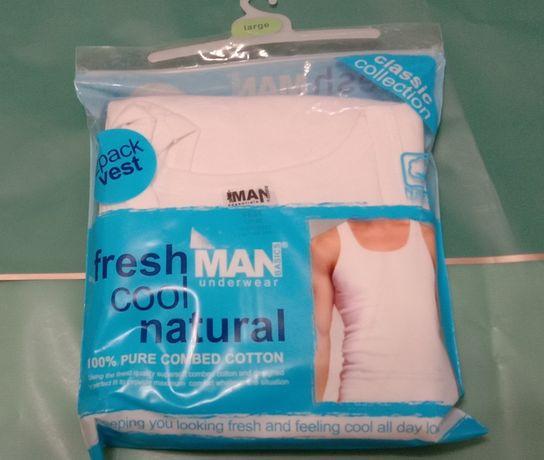 Майка MAN underwear Basics 2 pack vest. США