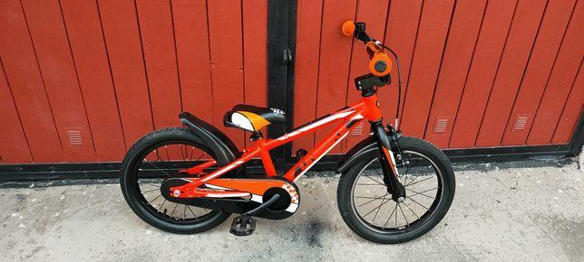 Rower dziecięcy 16* UNIBIKE 'Viking'. Rama aluminiowa.