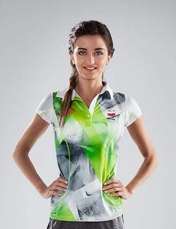 Koszulka damska 4F z kolekcji na I Igrzyska Europejskie w Baku 2015.