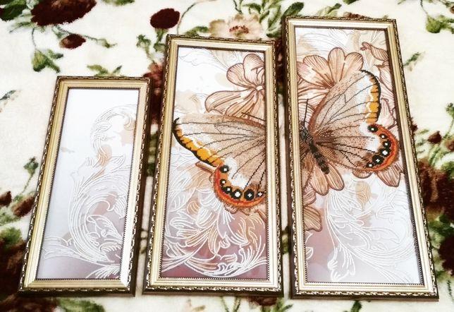 Триптих ручной работы