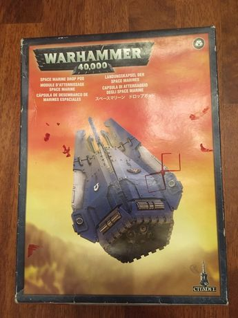 Warhammer 40k Drop pod
