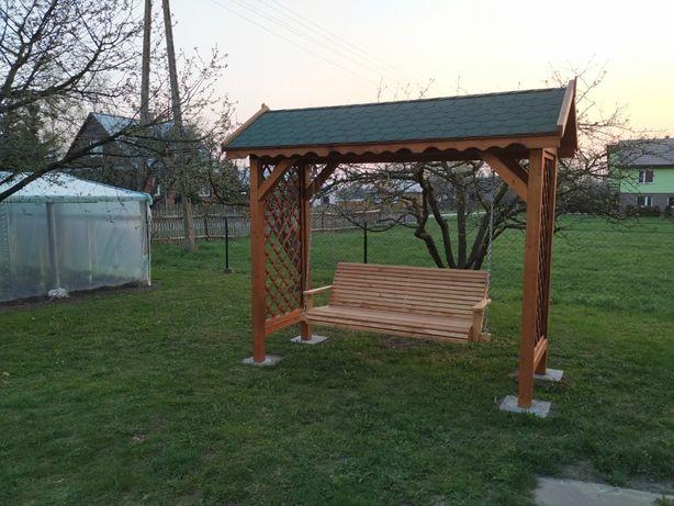 Huśtawka ogrodowa ławka meble