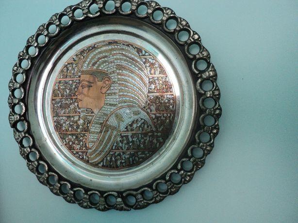 тарелка настенная египет