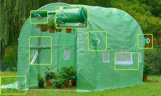 WZMOCNIONY tunel 2X3 24kg ogrodniczy ogrodowy szklarnia FOLIA UV