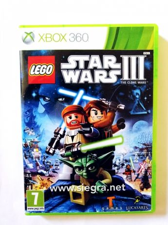 Lego Star wars III the clone wars Xbox 360
