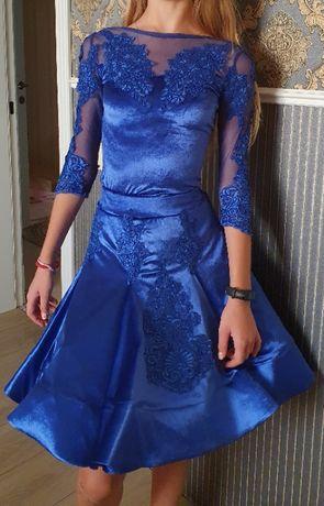 Бейсик рейтинговое платье для бальных танцев ювеналы 1, 2