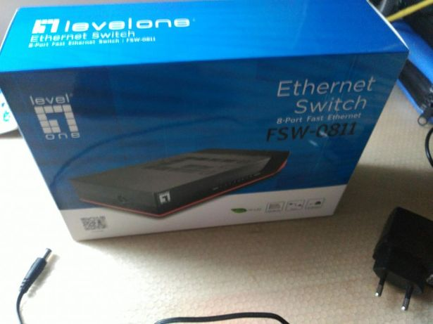 Ethernet switch 8 portas