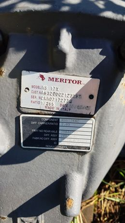 Wkład mostu meritor 2.85 volvo fh13 magnum dxi