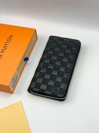 Кожаный кошелек бумажник органайзер клатч Луи Витон Louis Vuitton k362