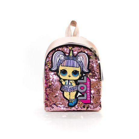 Рюкзак с пайетками детский ЛОЛ LOL