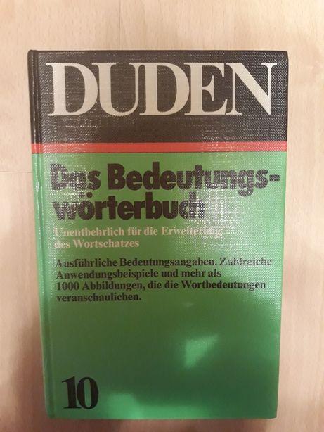 Słownik niemiecki Duden