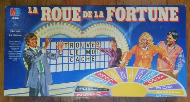 Jogo antigo Francês La Roue de la Fortune