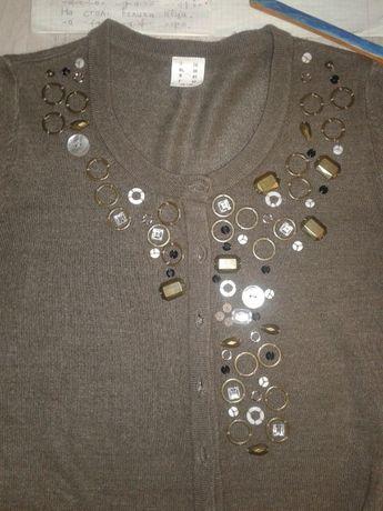 Набор декор фурнитуры для украшения вышивки камни пуговицы все вместе