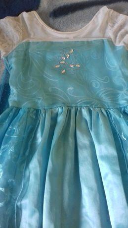 Suknia Elsy/strój Elsa/ kraina lodu rozm.150