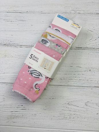 Детские носки высокие Primark (Англия) для девочек