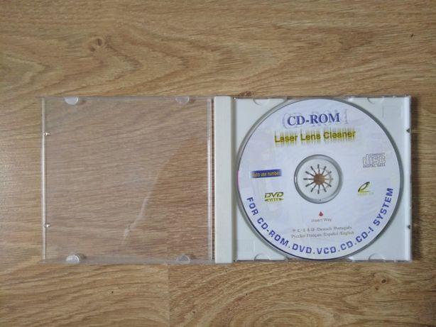 Płyta czyszcząca napędy/soczewkę CD/DVD+tania wysyłka