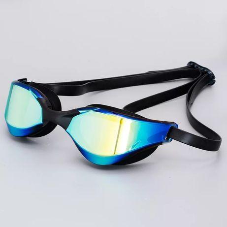 Okulary Pływackie Filtr UV Lustrzane Anti Fog Jak Arena Speedo Wys24H