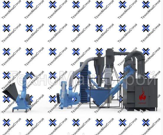 Пеллетная линия (мини завод для производства пеллет)