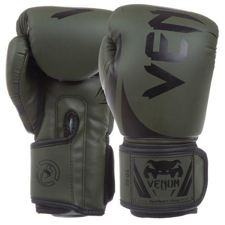 Перчатки боксерские PU на липучке VENUM Challenger 2.0