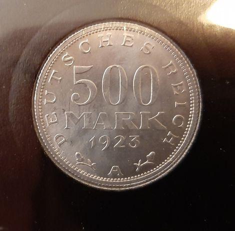 Moneta 500 MARK z 1923 roku - A