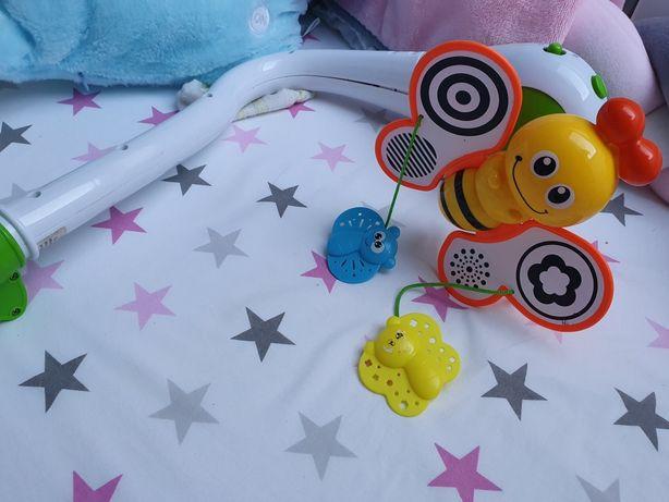 Karuzela do łóżeczka , pozytywka,  projektor