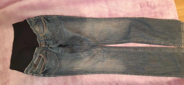 Ciążowe spodnie jeansowe h&m rozm 36