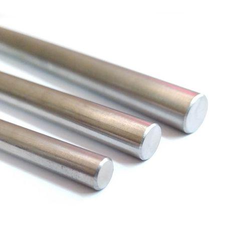 Varões lisos de aço inox - impressoras 3D e CNC