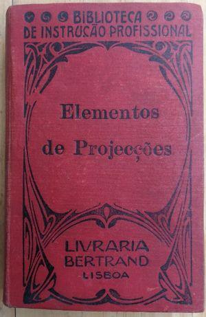 elementos de projecções, biblioteca de instrução profissional