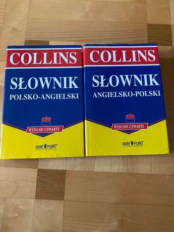 Słownik polsko angielski i angielsko Polski Collins