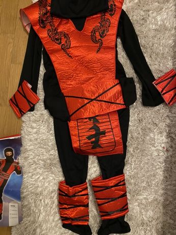 Przebranie -kostium Ninja strój dla dziecka 122-128